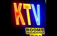 KTV sign