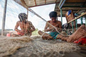 mending-nets